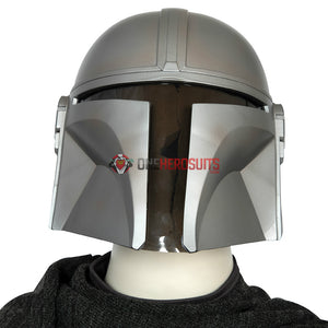Mandalorian Cosplay Helmet Movie Level Star Wars Cosplay Props