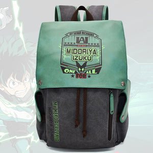 My Hero Academia Backpack Midoriya Izuku Creative Bag