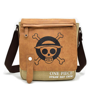 One Piece Shoulder Bags Monkey D. Luffy Printed Creative Bag