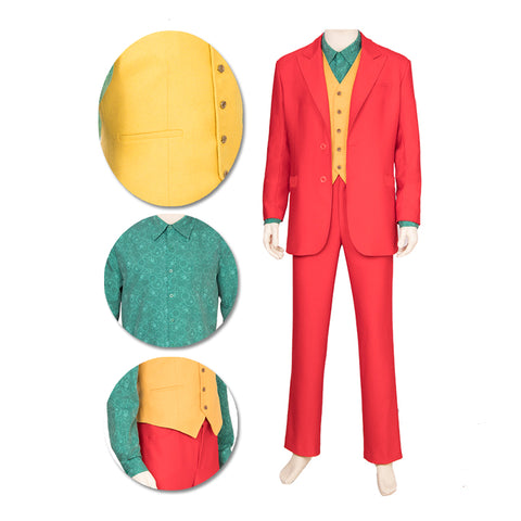 2019 Joker Cosplay Costumes Bright Color Edition
