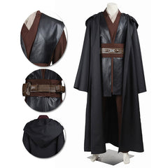 Anakin Skywalker Cosplay Costumes Star Wars Movie Level Suit