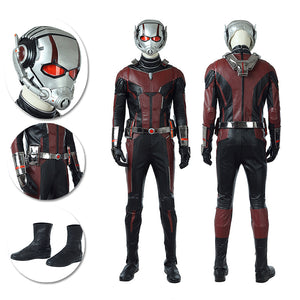 Ant-man Cosplay Costumes The Classic Leather Suits NO Helmet and Shoes