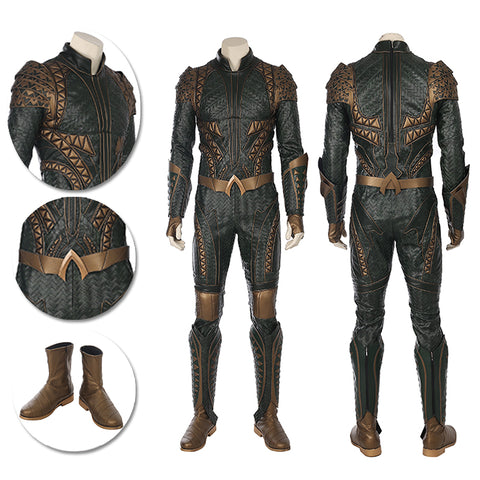 Aquaman Cosplay Costumes Justice League Movie Level Suits