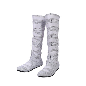 Atlanna Cosplay Boots Aquaman Queen White Cosplay Shoes