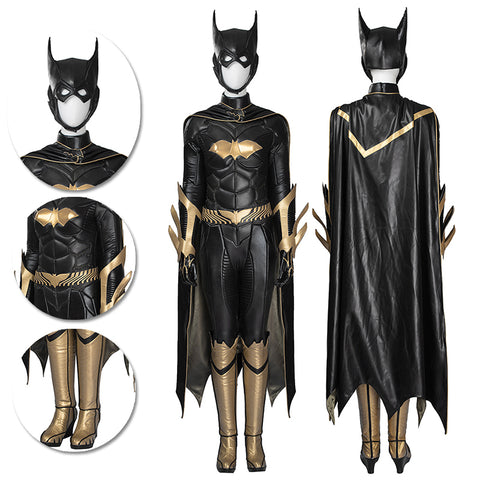 Batgirl Cosplay Costumes Arkham Knight Muscle Shape Cosplay Suits
