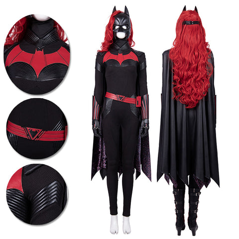 Batwoman Cosplay Costumes Kate Kane Cosplay Suit Movie Level