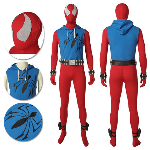 Ben Reily Cosplay Costume Scarlet Spider Man Cosplay Suit