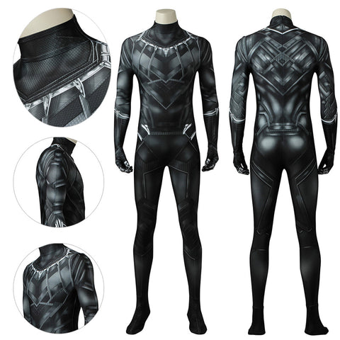 Black Panther Suit 3D Printed T'challa Civil War Bodysuit