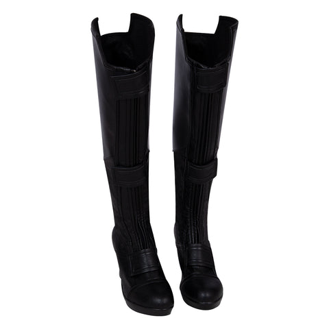 Black Widow 2020 Cosplay Boots Natasha Black Cosplay Shoes Movie Level