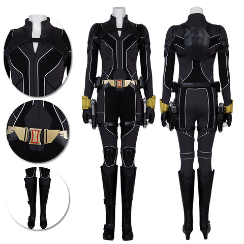 Black Widow 2020 Cosplay Costumes Natasha Black Cosplay Suit Movie Level