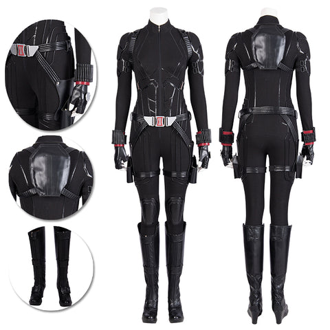 Black Widow Cosplay Costumes Endgame Movie Level Suits