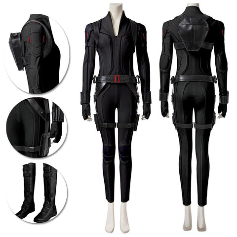 Black Widow Cosplay Costumes Natasha Romanoff Black Cosplay Suit