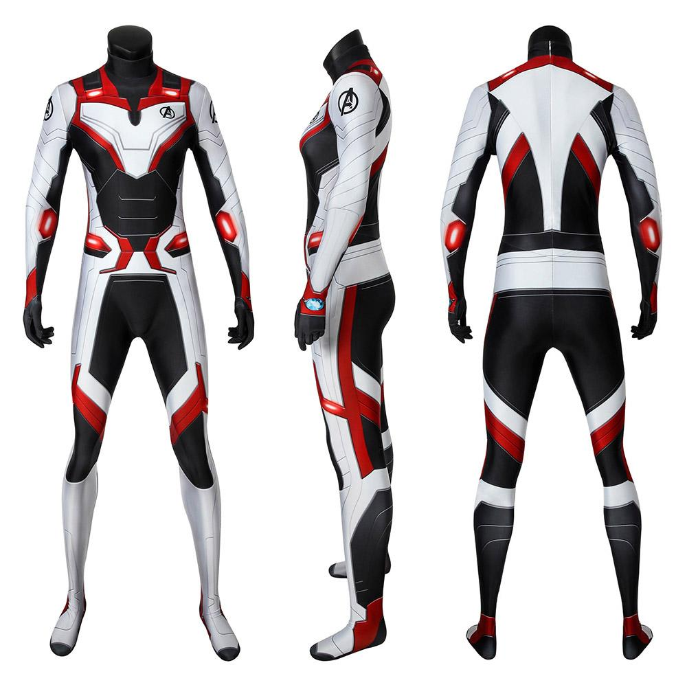 Black Widow Quantum Realm Suits Avengers Endgame Cosplay Costumes