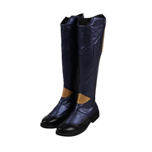 Captain Marvel Cosplay Boots Endgame Cosplay Shoes Movie Level