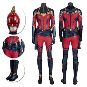 Captain Marvel Cosplay Costumes Endgame Cosplay Suits Movie Level