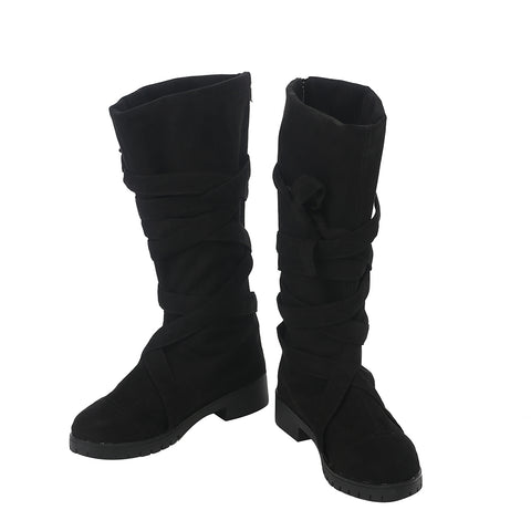 Daenerys Targaryen Cosplay Boots Daenerys Black Royal Shoes