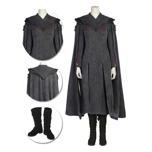 Daenerys Targaryen Cosplay Costumes Daenerys Black Royal Suits