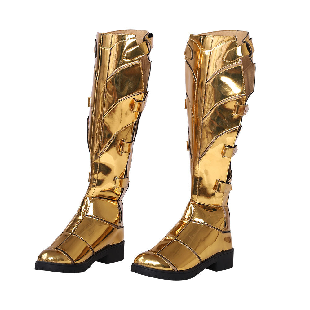 Cosplay Boots Shoes for Wonder Woman Diana Prince