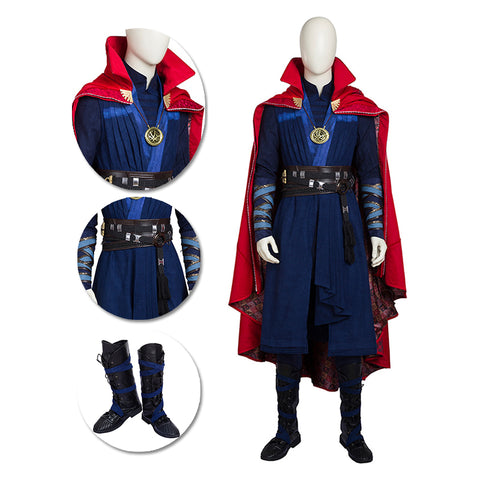Doctor Strange Cosplay Costumes Avengers Endgame Movie Level Suits