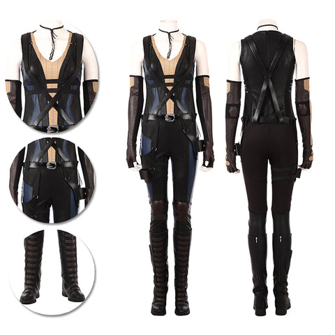 Domino Cosplay Costumes Deadpool 2 Domino Cosplay Suits
