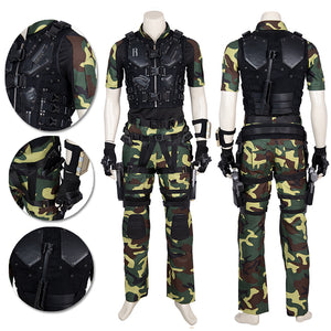 G.I. Joe 3 Ever Vigilant Roadblock Cosplay Costume Movie Level