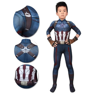 Gifts For Kids Captain America Cosplay Costumes Avengers3 Infinity War Cosplay Suit