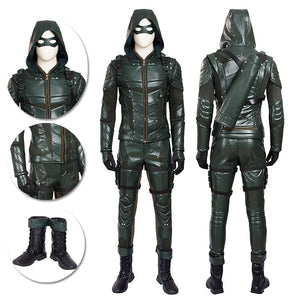 Green Arrow Cosplay Costume Movie Level Season 5 Cosplay Suits