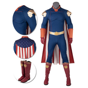 Homelander Cosplay Costumes The Boys Season 1 Cosplay Suit