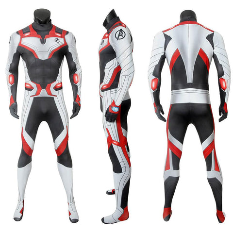 Avengers Quantum Realm Suits Avengers Endgame Cosplay Costume