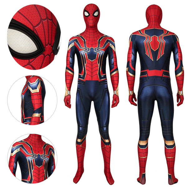Iron Spider Suit Avengers Endgame Spider-man Bodysuit