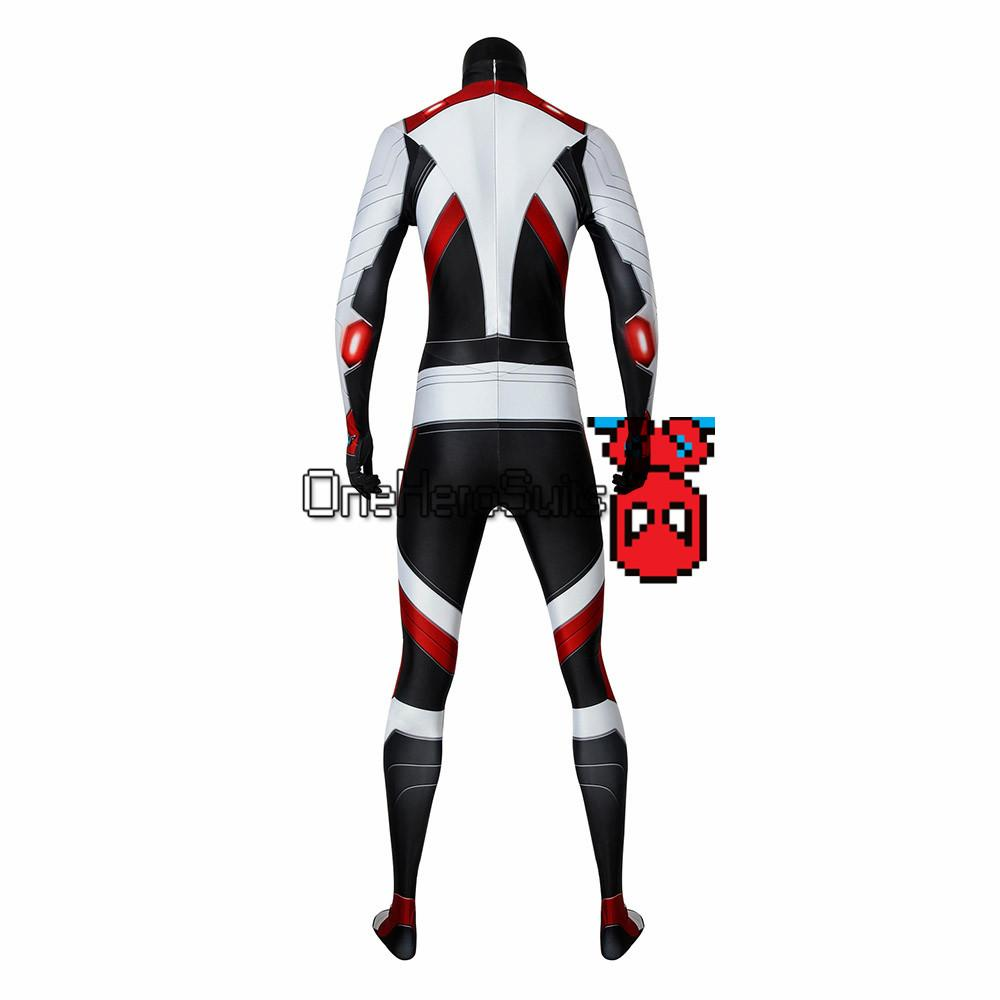 Black Widow Quantum Realm Suits Avengers Endgame Cosplay Costumes Oneherosuits
