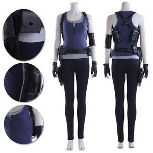 Jill Valentine Resident Evil 3 Remake Cosplay Costumes