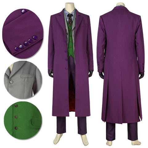 Joker Cosplay Costumes Batman Dark Knight Rise Cosplay Suit