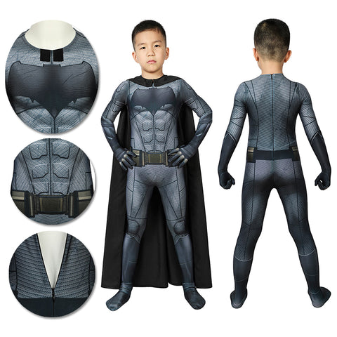Kids Batman Suit Children SuperHero Cosplay Costume 3D Printed