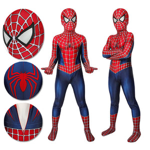Kids Spider-man Cosplay Suit Classic Tobey Maguire Printed Edition