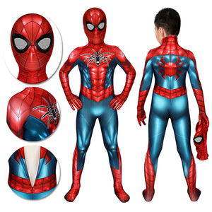 Kids Spider-man Cosplay Suit Spider-Armor MK IV HQ Printed Edition