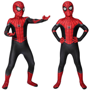 Christmas Gifts For Kids Spider-man Costume Far From Home HD Printed Suit