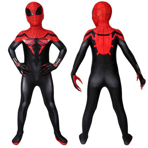 Christmas Gifts For Kids Superior Spider-man Cosplay Costume Children Spandex Costume