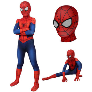 Kids Ultimate Spider-Man Suit SuperHero Cosplay Costumes For Children