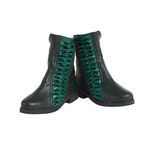 Mantis Lorelei Cosplay Boots Movie Level Mantis Green Shoes