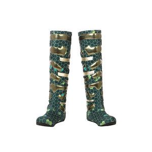 Mera Cosplay Boots Aquaman 2018 3D Printed HQ Shoes