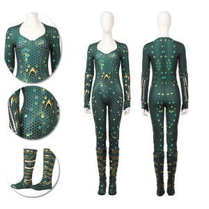 Mera Cosplay Costumes Aquaman 2018 3D Printed HQ Suits