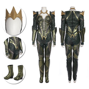 Mera Cosplay Costumes Justice League Mera Leather Cosplay Suits