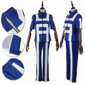 My Hero Academia Cosplay Costume Academia Izuku School Gymnastics Suit