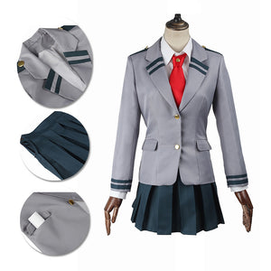 My Hero Academia Cosplay Costume Izuku School Female Suit