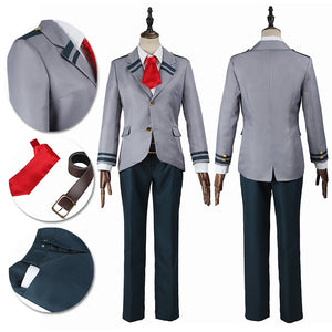 My Hero Academia Cosplay Costume Izuku School Male Suit