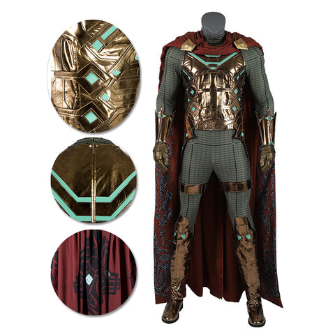 Mysterio Cosplay Costumes Spider-man Far From Home Cosplay Suit Movie Level