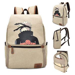Naruto Backpack Naruto Uzumaki Printed Animation Creative Bag