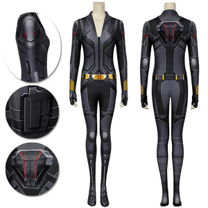 Natasha Romanoff Spandex Black Cosplay Costumes Black Widow 3D Printed Cosplay Suit