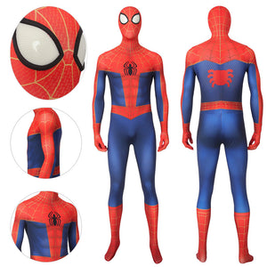 Peter Parker Suit Into The Spider-Verse Spiderman Bodysuit